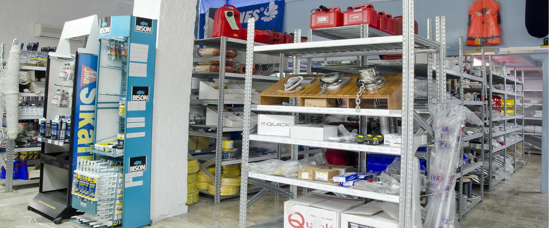 Basimakopoulos shipyard in Greece - Kilada Yard - Marine Store